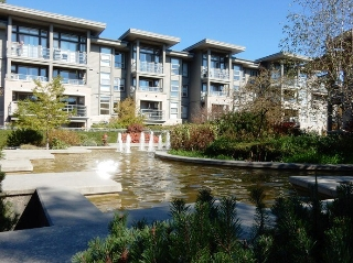 "Main Photo: 310 9339 UNIVERSITY Crescent in Burnaby: Simon Fraser Univer. Condo for sale in ""THE HARMONY"" (Burnaby North)  : MLS(r) # R2005690"