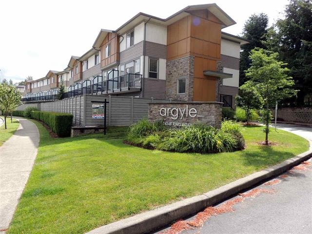 "Main Photo: 87 34248 KING Road in Abbotsford: Poplar Townhouse for sale in ""Argyle"" : MLS® # R2099511"