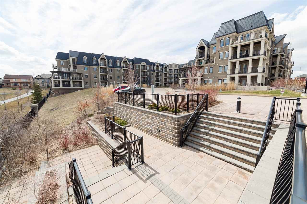 Main Photo: 424 6083 MAYNARD Way in Edmonton: Zone 14 Condo for sale : MLS® # E4061696
