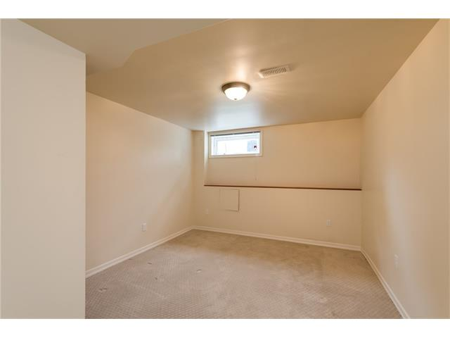 Basement bedroom is a great size!