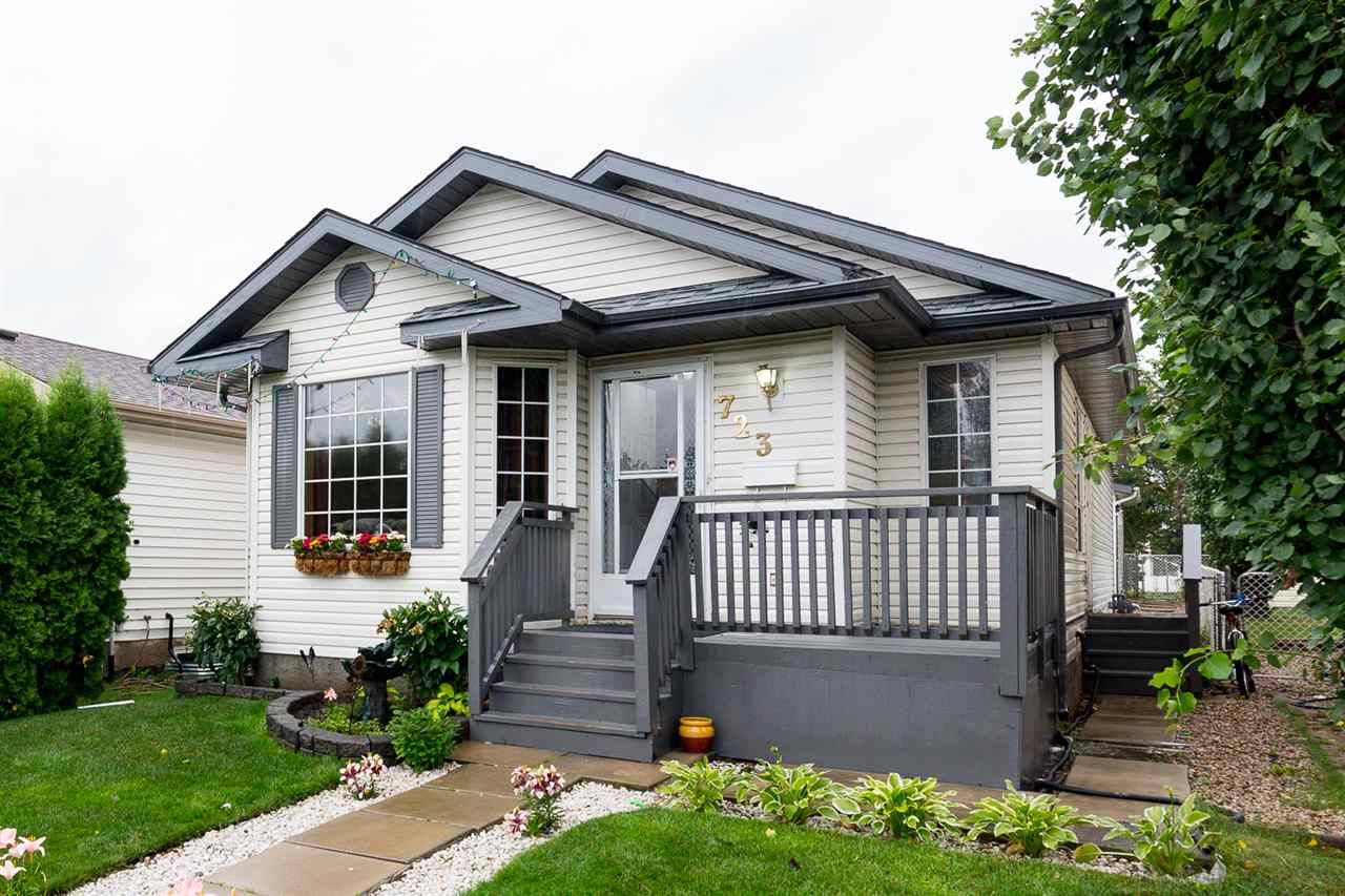 Main Photo: 723 JOHNS Road in Edmonton: Zone 29 House for sale : MLS(r) # E4075081