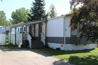 Main Photo: 2 Ridgeway Drive NW in Edmonton: Zone 42 Mobile for sale : MLS® # E4078641