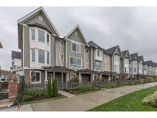 "Main Photo: 112 8138 204 Street in Langley: Willoughby Heights Townhouse for sale in ""Ashbury and Oak"" : MLS® # R2213113"