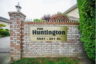 "Main Photo: 107 5641 201 Street in Langley: Langley City Townhouse for sale in ""Huntington"" : MLS® # R2222255"