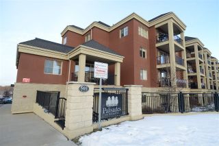 Main Photo: 212 501 PALISADES Way: Sherwood Park Condo for sale : MLS®# E4104415