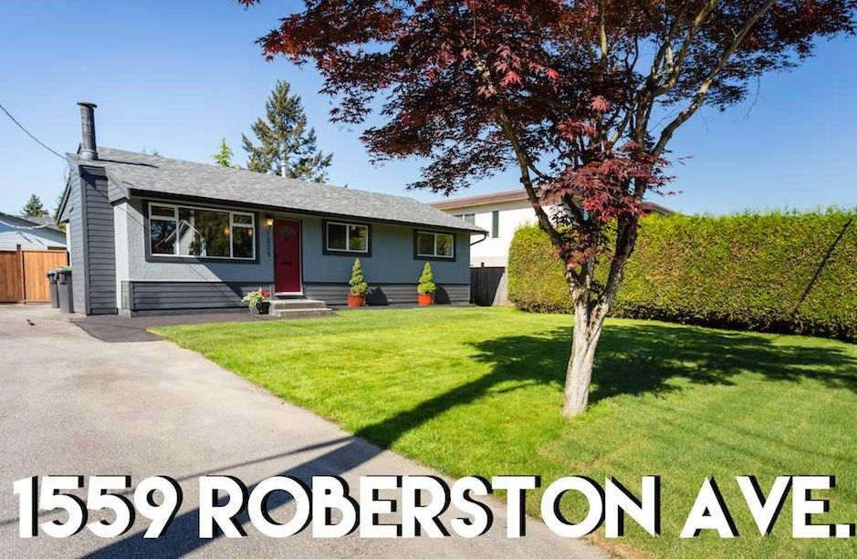 Main Photo: 1559 ROBERTSON Avenue in Port Coquitlam: Glenwood PQ House for sale : MLS®# R2268427