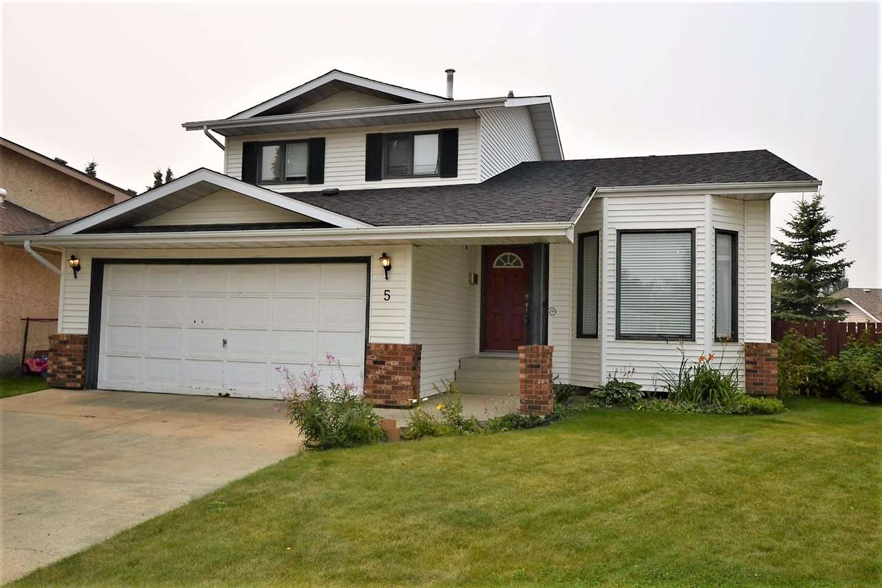 Main Photo: 5 DUMET Place: St. Albert House for sale : MLS®# E4124804