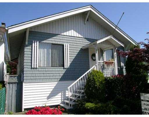 "Main Photo: 2939 MCGILL ST in Vancouver: Hastings East House for sale in ""N/A"" (Vancouver East)  : MLS® # V588209"