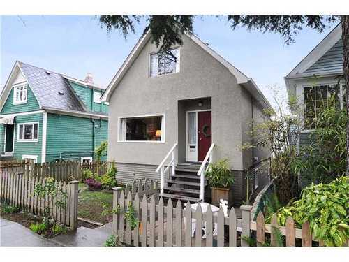 Main Photo: 5205 ST CATHERINES Street in Vancouver East: Fraser VE Home for sale ()  : MLS® # V943590