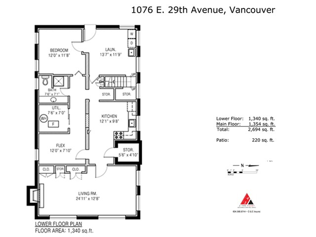 Photo 18: 1076 E 29TH Avenue in Vancouver: Fraser VE House for sale (Vancouver East)  : MLS(r) # V1062394