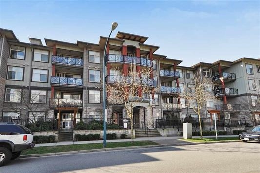 "Main Photo: 405 2336 WHYTE Avenue in Port Coquitlam: Central Pt Coquitlam Condo for sale in ""CENTREPOINTE"" : MLS® # R2131165"