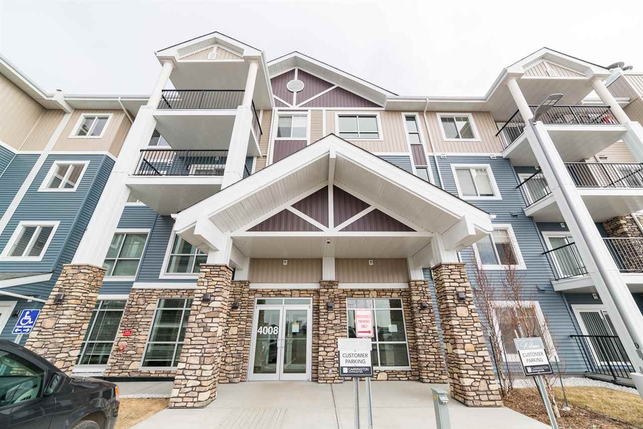 Main Photo: 322 4008 Savaryn Drive in Edmonton: Zone 53 Condo for sale : MLS® # E4057076
