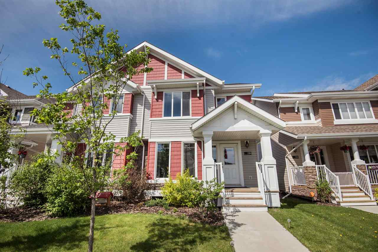 Main Photo: 1384 STARLING Drive in Edmonton: Zone 59 House Half Duplex for sale : MLS(r) # E4067446