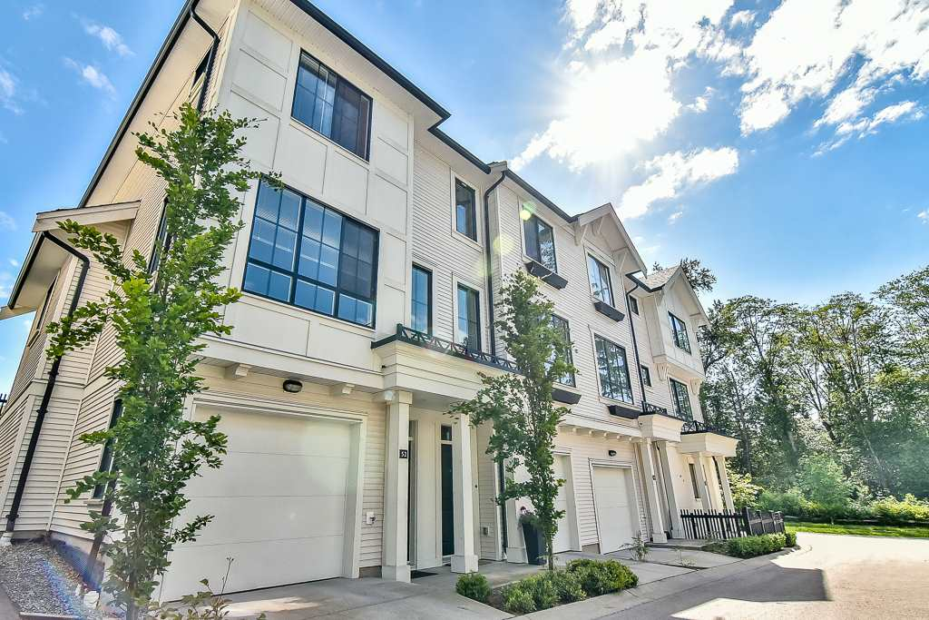"Main Photo: 52 14888 62 Avenue in Surrey: Sullivan Station Townhouse for sale in ""ETON"" : MLS(r) # R2173612"