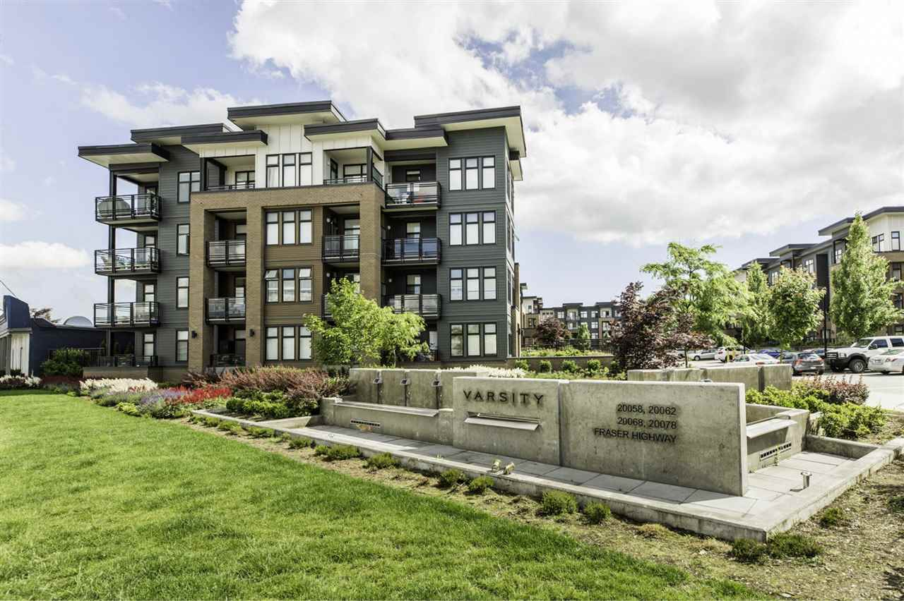 "Main Photo: 317 20078 FRASER Highway in Langley: Langley City Condo for sale in ""Varsity"" : MLS(r) # R2181716"