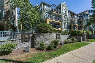 "Main Photo: 213 1189 WESTWOOD Street in Coquitlam: North Coquitlam Condo for sale in ""LAKESIDE TERRACE"" : MLS® # R2198998"