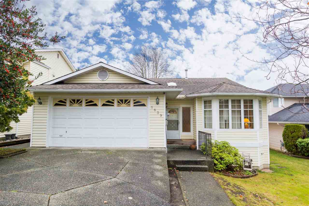 "Main Photo: 1839 YUKON Avenue in Port Coquitlam: Citadel PQ House for sale in ""HARBOUR VIEW ESTATES"" : MLS® # R2247204"