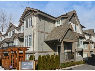 "Main Photo: 86 8250 209B Street in Langley: Willoughby Heights Townhouse for sale in ""OUTLOOK"" : MLS(r) # F1404078"