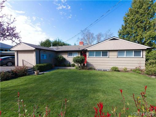 Main Photo: 3978 S Livingstone Avenue in VICTORIA: SE Mt Doug Single Family Detached for sale (Saanich East)  : MLS® # 335212