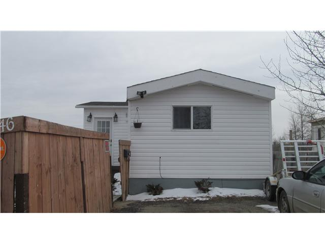 Main Photo: 46 8420 ALASKA Road in Fort St. John: Fort St. John - City SE Manufactured Home for sale (Fort St. John (Zone 60))  : MLS® # N235119