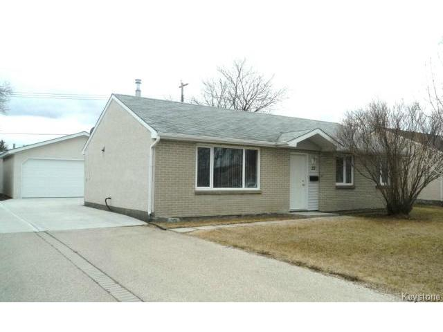 FEATURED LISTING: 22 LEICESTER Square WINNIPEG