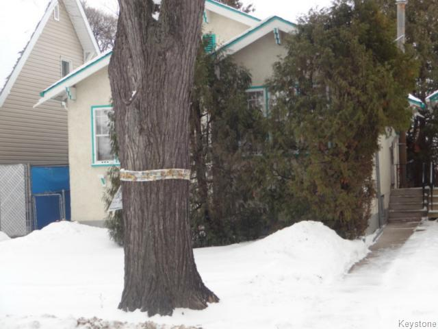 Main Photo: 815 Sherburn Street in WINNIPEG: West End / Wolseley Residential for sale (West Winnipeg)  : MLS(r) # 1503759
