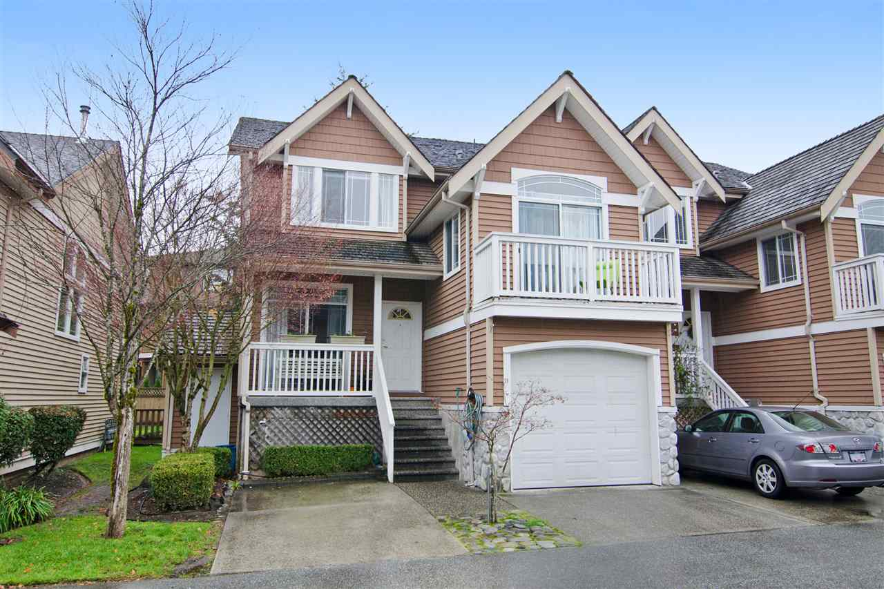 "Main Photo: 18 1506 EAGLE MOUNTAIN Drive in Coquitlam: Westwood Plateau Townhouse for sale in ""RIVER ROCK"" : MLS® # R2017127"