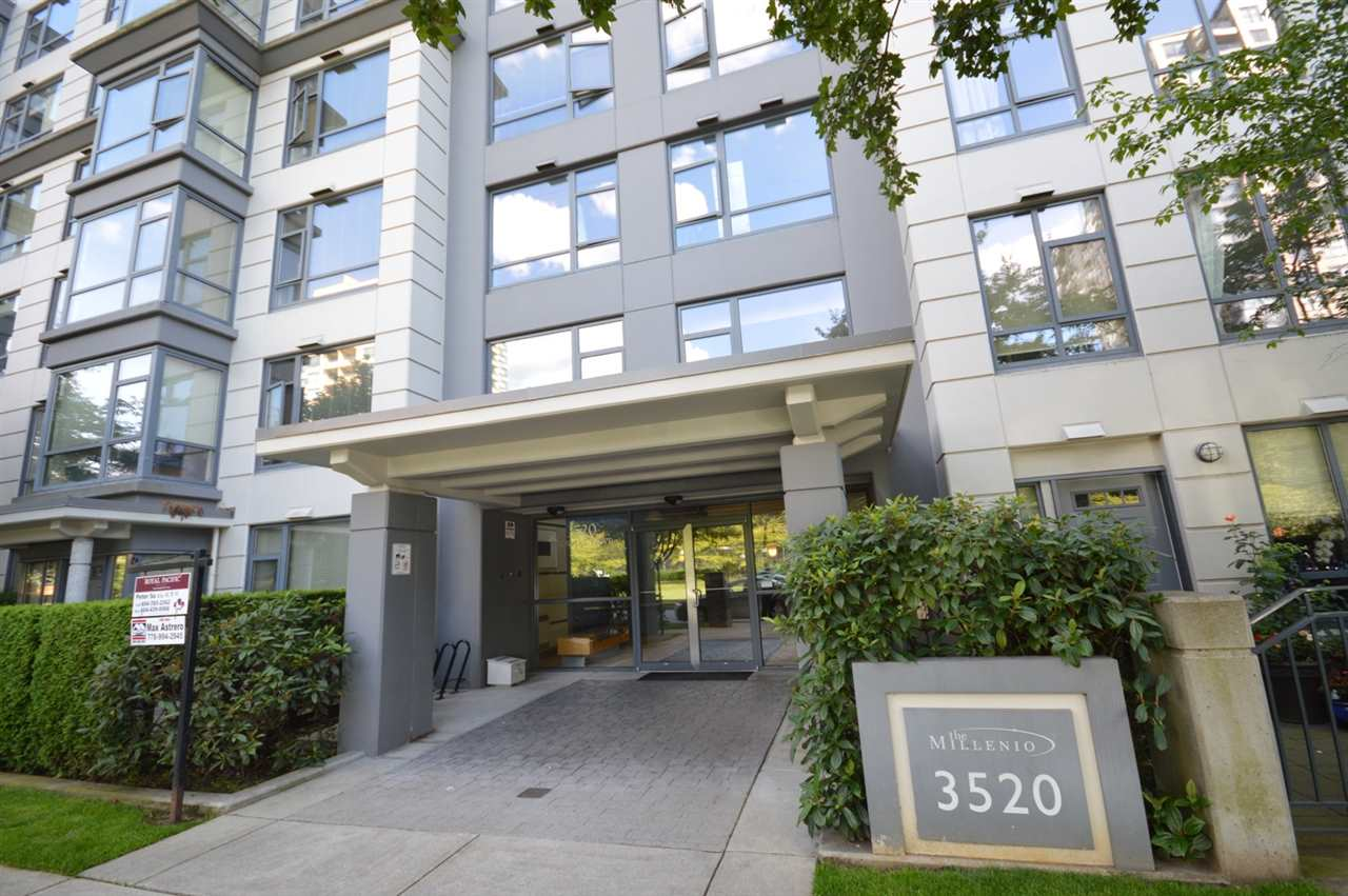 "Main Photo: 808 3520 CROWLEY Drive in Vancouver: Collingwood VE Condo for sale in ""MILLENIO"" (Vancouver East)  : MLS® # R2082086"