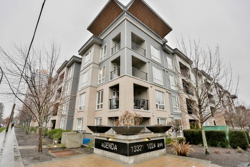 "Main Photo: 418 13321 102A Avenue in Surrey: Whalley Condo for sale in ""Agenda"" (North Surrey)  : MLS®# R2093962"