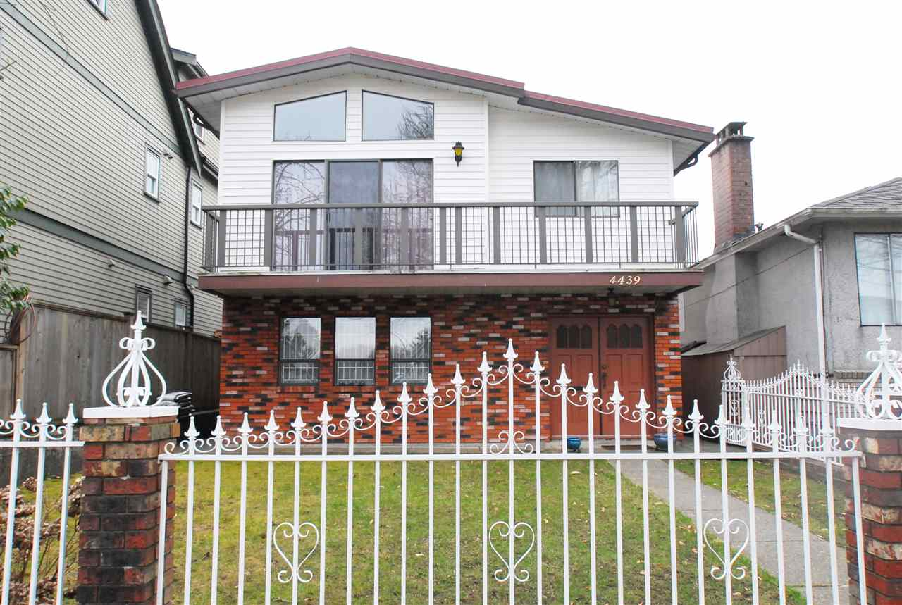 Main Photo: 4439 WELWYN Street in Vancouver: Victoria VE House for sale (Vancouver East)  : MLS® # R2148441