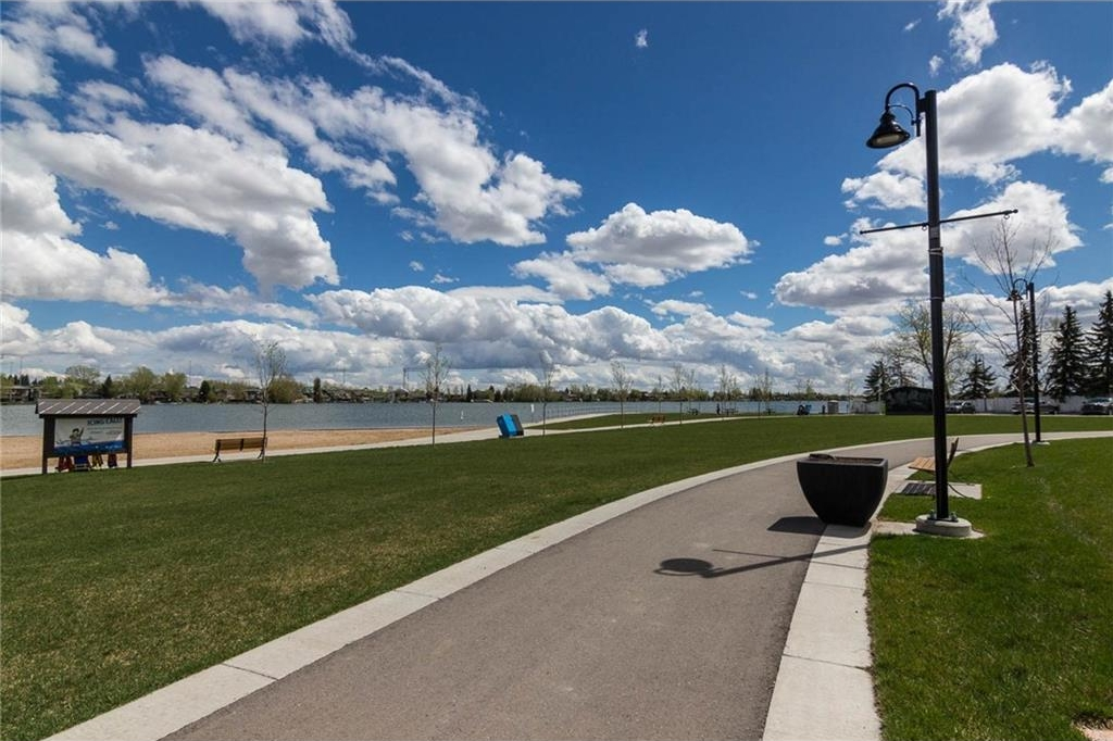 Enjoy this all summer long...Chestermere Lake...just across the street.