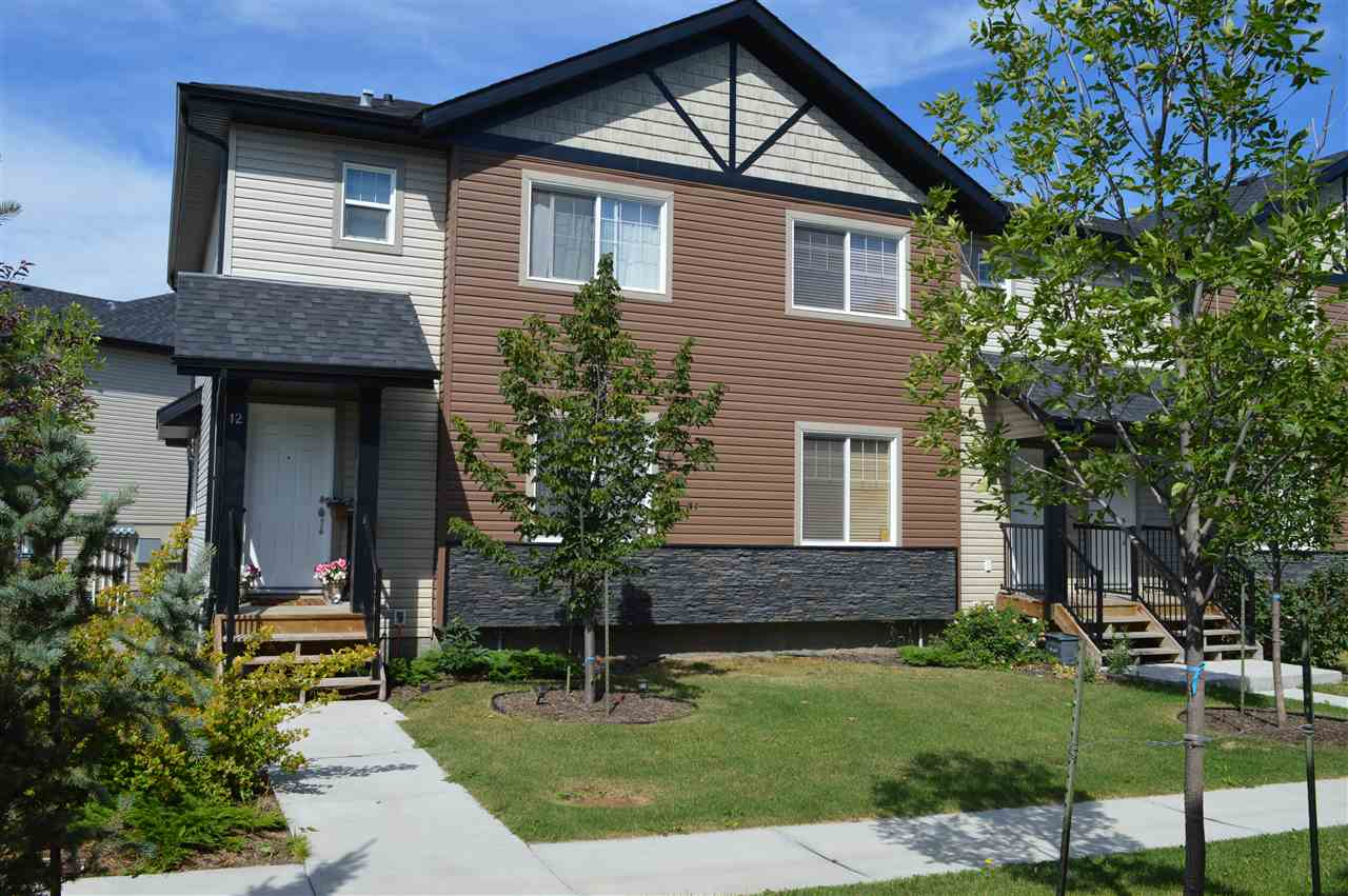 Main Photo: 12 8716 179 Avenue NW in Edmonton: Zone 28 Townhouse for sale : MLS® # E4075200