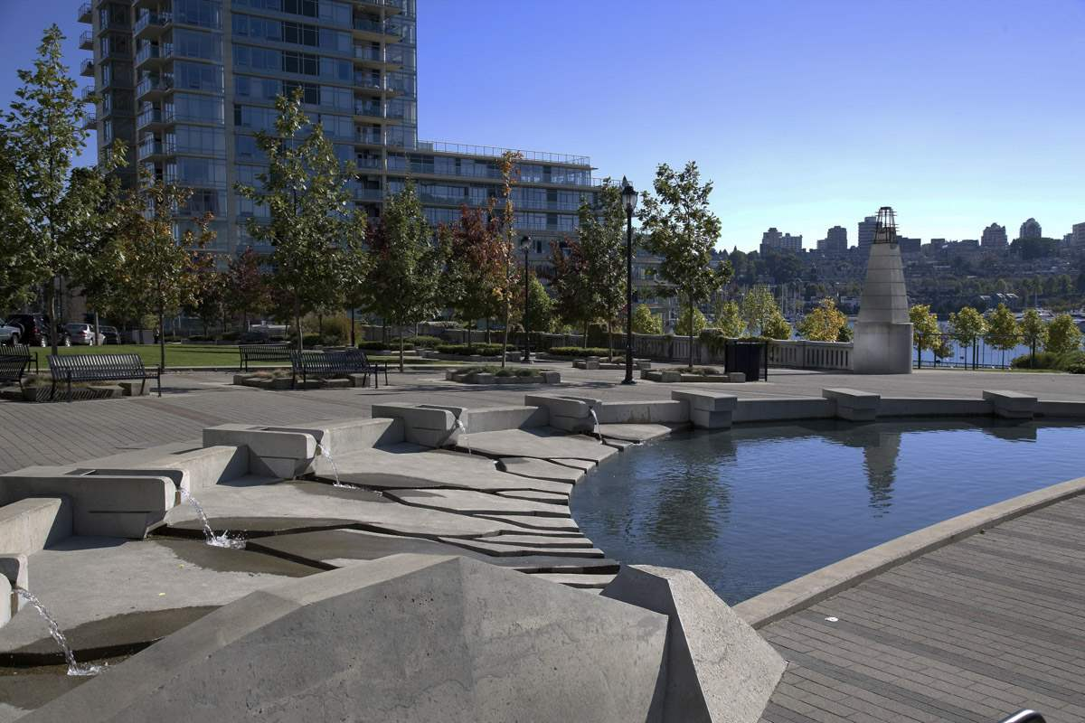 George Wainborn Park Fountain