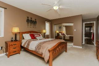 Plenty of room for a King bed! With walk in closet!