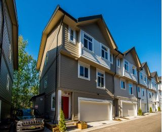"Main Photo: 81 7665 209 Street in Langley: Willoughby Heights Townhouse for sale in ""ARCHSTONE"" : MLS®# R2265256"