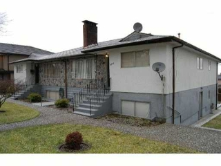 Main Photo: 6293 BURNS Street in Burnaby: Upper Deer Lake House Duplex for sale (Burnaby South)  : MLS®# V869871