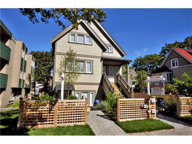 Main Photo: 69 E 16TH AVENUE in : Mount Pleasant VE Townhouse for sale : MLS® # V998833