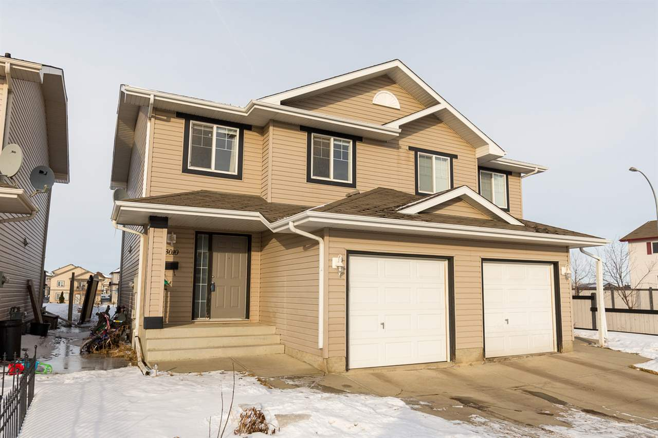 Main Photo: 13010 162A Avenue in Edmonton: Zone 27 House Half Duplex for sale : MLS® # E4070840