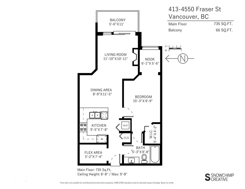 "Photo 19: 413 4550 FRASER Street in Vancouver: Fraser VE Condo for sale in ""CENTURY"" (Vancouver East)  : MLS(r) # R2186913"