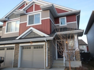 Main Photo: 22 2004 Trumpeter Way in Edmonton: Zone 59 House Half Duplex for sale : MLS® # E4074285