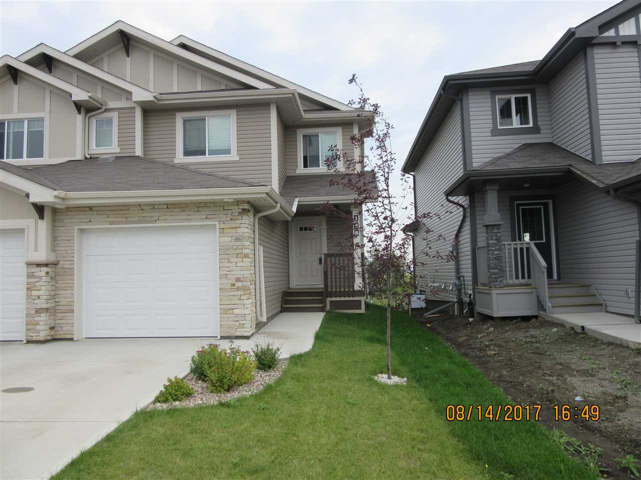 Main Photo: 155 SANTANA Crescent: Fort Saskatchewan House Half Duplex for sale : MLS® # E4077965