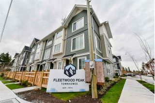 Main Photo: 14 8699 158 Street in Surrey: Fleetwood Tynehead Townhouse for sale : MLS® # R2223443