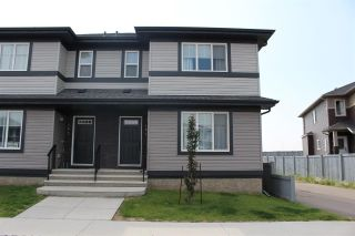 Main Photo: 151 RADCLIFFE Wynd: Fort Saskatchewan House Half Duplex for sale : MLS®# E4123500
