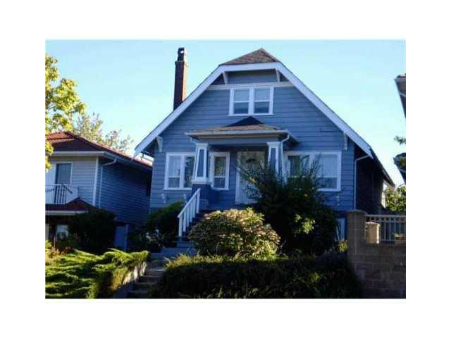 Main Photo: 2992 E 2ND Avenue in Vancouver: Renfrew VE House for sale (Vancouver East)  : MLS® # V874739
