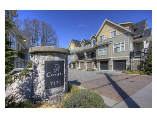"Main Photo: 15 7171 STEVESTON Highway in Richmond: Broadmoor Townhouse for sale in ""CASSIS"" : MLS®# V885405"