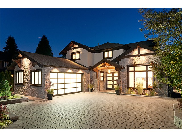 Main Photo: 2893 AURORA RD in North Vancouver: Capilano Highlands House for sale : MLS® # V971457