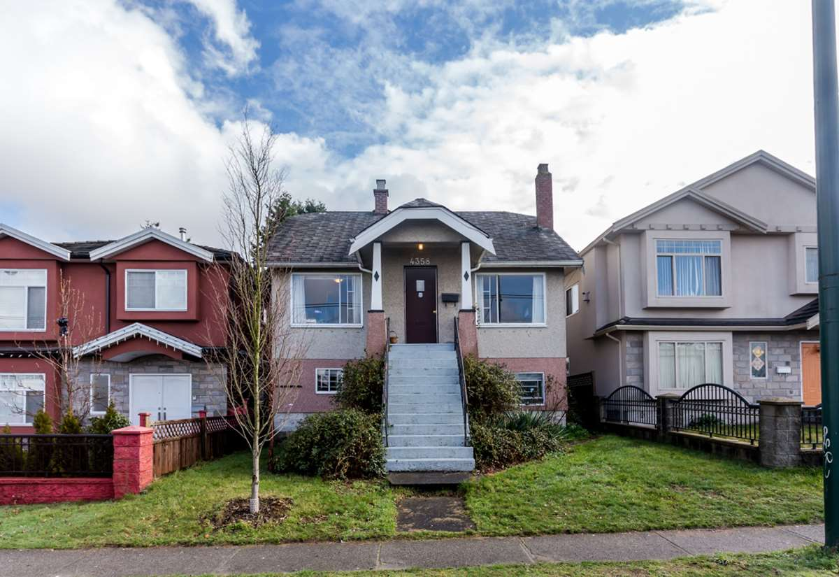 Main Photo: 4358 VICTORIA Drive in Vancouver: Victoria VE House for sale (Vancouver East)  : MLS® # R2037719