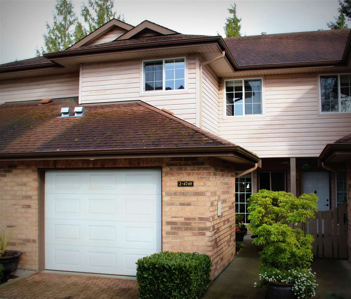 "Main Photo: 2 4749 54A Street in Delta: Delta Manor Townhouse for sale in ""ADLINGTON"" (Ladner)  : MLS® # R2044631"