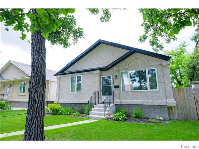 Main Photo: 322 Moray Street in Winnipeg: Residential for sale : MLS® # 1617679