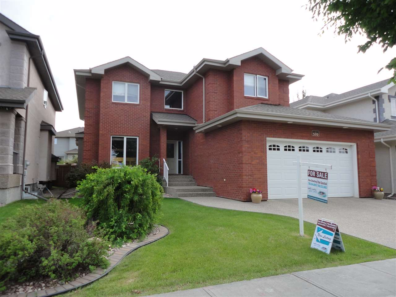 Main Photo: 570 Hodgson Road NW in Edmonton: Zone 14 House for sale : MLS(r) # E4064861